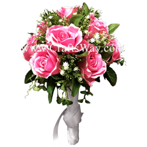 WD-004 Wedding & Special Event, Light Pink Rose Bouquet