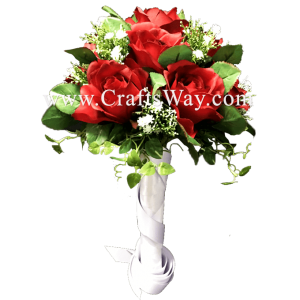 WD-005 Wedding & Special Event, Red Rose Bouquet