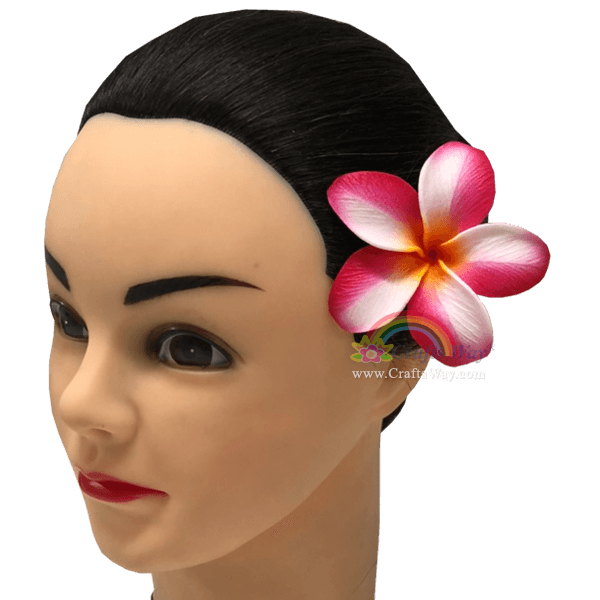 FSH192 Artificial Foam Flowers, Plumeria Type NO, size 3 inches