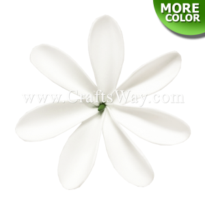 FSH465 Artificial Foam Flowers, Foam Tiare Type DO, size 3.5 inches