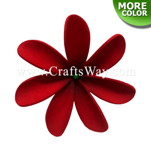 FSH467 Artificial Foam Tiare Flowers (Type FA), available in size 3 inches and 6 colors